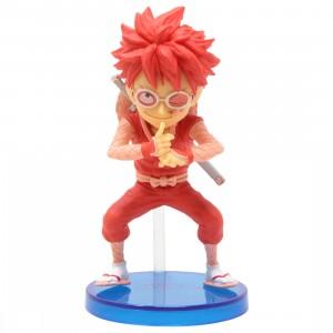 Banpresto One Piece World Collectable Figure WanoKuni Style 1 - A Monkey D. Luffy (red)