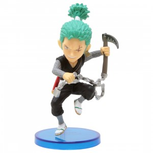 Banpresto One Piece World Collectable Figure WanoKuni Style 1 - B Roronoa Zoro (green)