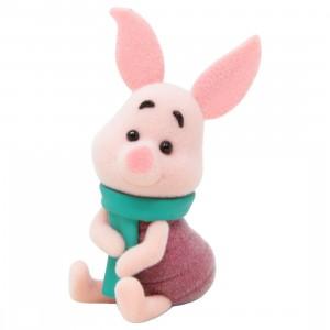Banpresto Fluffy Puffy Petit Disney Characters Winnie-The-Pooh Vol.2 - Piglet Figure (pink)
