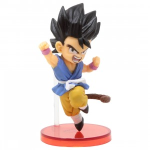 Banpresto Dragon Ball GT World Collectable Figure Vol 4 - 019 Son Goku (blue)