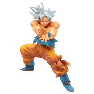 Banpresto Dragon Ball Super The Super Warriors Special Ultra Instinct Goku Re-run Figure (silver)