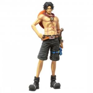 Banpresto One Piece Grandista Manga Dimensions Portgas D. Ace Figure (tan)