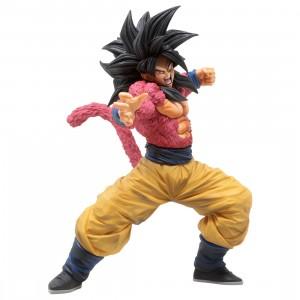 Banpresto Dragon Ball Super Banpresto World Figure Colosseum 3 Super Master Stars Piece The Super Saiyan 4 Son Goku Figure (red)