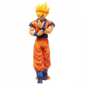 Banpresto Dragon Ball Z Solid Edge Works Vol.1 Super Saiyan Son Goku Figure (orange)