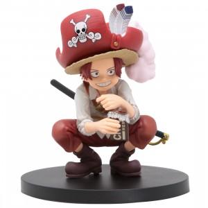 Banpresto DXF One Piece The Grandline Children Wano Kuni Vol. 1 Shanks Figure (red)