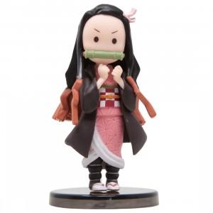 Banpresto Demon Slayer Kimetsu No Yaiba World Collectable Figure Nezuko Kamado Collection II - 7 Standing Nezuko (black)