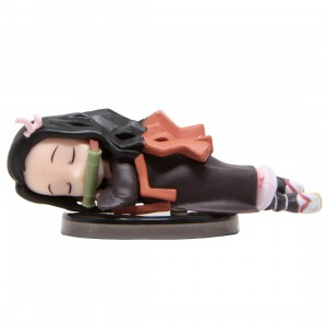 Banpresto Demon Slayer Kimetsu No Yaiba World Collectable Figure Nezuko Kamado Collection II - 9 Sleeping Nezuko (black)