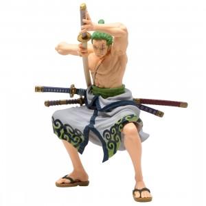 Banpresto One Piece Banpresto World Figure Colosseum 3 Super Master Stars Piece The Roronoa Zoro The Original Figure (green)