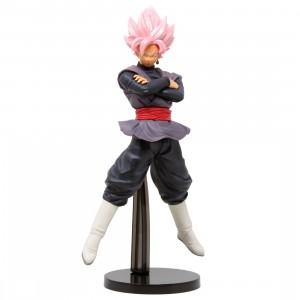 Banpresto Dragon Ball Super Chosenshi Retsuden II Vol. 6 Super Saiyan Rose Goku Black Figure (pink)