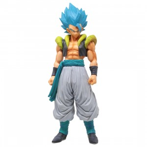 Banpresto Dragon Ball Super Super Master Stars Piece The Gogeta The Brush Super Saiyan Blue Figure (blue)