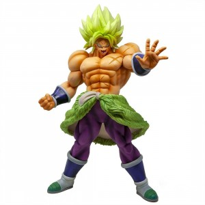 Banpresto Dragon Ball Super King Clustar Super Saiyan Broly Full Power Figure (green)
