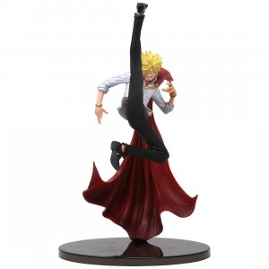 Banpresto One Piece Banpresto World Figure Colosseum 2 Vol. 2 - Vinsmoke Sanji (red)