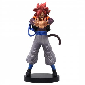 Banpresto Dragon Ball Z Dokkan Battle 4th Anniversary Figure - Super Saiyan 4 Gogeta (gray)