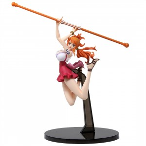 Banpresto One Piece Banpresto World Figure Colosseum 2 Vol. 3 Nami Figure (orange)
