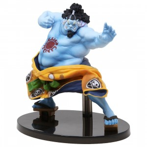 Banpresto One Piece Banpresto World Figure Colosseum 2 Vol.4 Jinbe Figure (blue)
