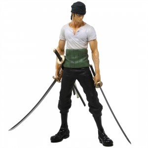 Banpresto One Piece 20th History Masterlise Roronoa Zoro Figure (white)