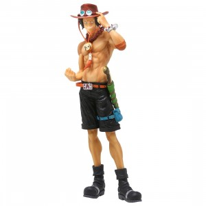Banpresto One Piece 20th History Masterlise Portgas D. Ace Figure (tan)