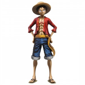Banpresto One Piece Grandista Manga Dimensions Monkey D. Luffy Figure (red)