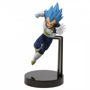 Banpresto Dragon Ball Super Z-Battle God Blue Vegeta Figure (blue)