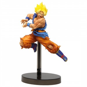 Banpresto Dragon Ball Super Z-Battle Super Saiyan Son Goku Figure (yellow)