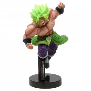 Banpresto Dragon Ball Super Z-Battle Super Saiyan Broly Full-Power Figure (green)