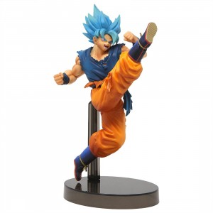 Banpresto Dragon Ball Super Z-Battle God Blue Son Goku Figure (blue)