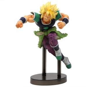 Banpresto Dragon Ball Super Z-Battle Super Saiyan Broly Figure (green)