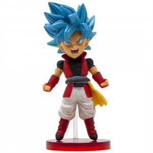 Banpresto Super Dragon Ball Heroes World Collectable Figure Vol. 4 - 16 Male Saiyan Avatar (blue)