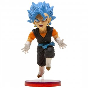Banpresto Super Dragon Ball Heroes World Collectable Figure Vol. 4 - 17 Super Saiyan Blue Vegito (blue)