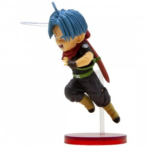 Banpresto Super Dragon Ball Heroes World Collectable Figure Vol. 4 - 19 Future Trunks (blue)