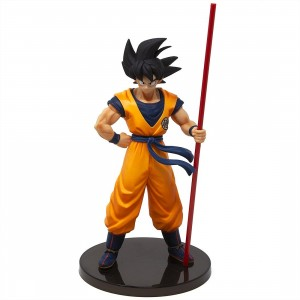 Banpresto Dragon Ball Super The Movie Goku The 20th Film Limited Edition Figure (orange)