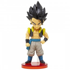 Banpresto Dragon Ball Super Broly Movie World Collectable Figure Vol 1 - 03 Gogeta (gray)