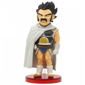 Banpresto Dragon Ball Super Broly World Collectable Figure Vol 1 - 06 Paragus (white)