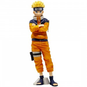 Banpresto Naruto Shippuden Grandista Shinobi Relations Naruto Uzumaki Vol. 2 Figure (orange)