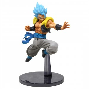 Banpresto Dragon Ball Super The Movie Ultimate Soldiers The Movie Vol 4 Super Saiyan Blue Gogeta Figure (blue)