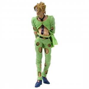 Banpresto JoJo's Bizarre Adventure Golden Wind JoJo's Figure Gallery 5 Pannacotta Fugo Figure (green)