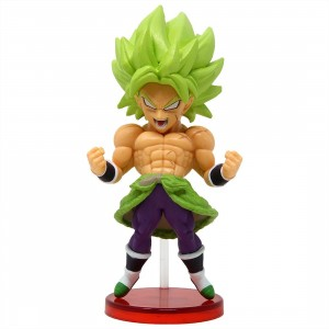 Banpresto Dragon Ball Super Broly Movie World Collectable Figure Vol. 3 - 14 Super Saiyan Broly Full Power (green)