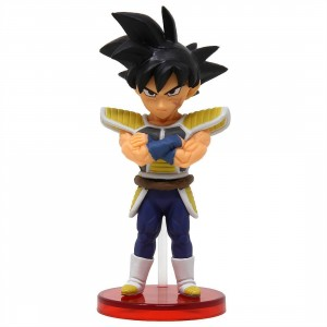 Banpresto Dragon Ball Super Broly Movie World Collectable Figure Vol. 3 - 15 Bardock (black)