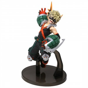 Banpresto My Hero Academia The Amazing Heroes Vol 3 Katsuki Bakugo Figure (green)