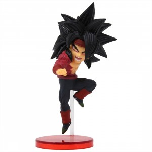 Banpresto Super Dragon Ball Heroes World Collectable Figure Vol. 5 - 25 Bardock Super Saiyan 4 (red)