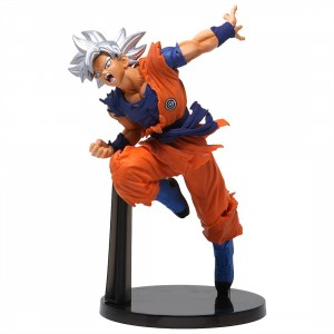 Banpresto Super Dragon Ball Heroes Transcendence Art Vol. 4 Ultra Instinct Goku Figure (orange)