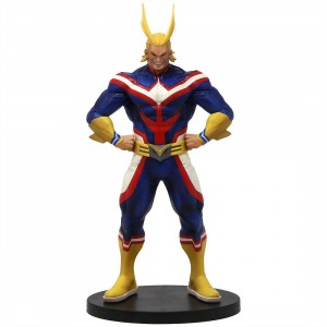Banpresto My Hero Academia Age of Heroes Vol.1 All Might Figure (blue)