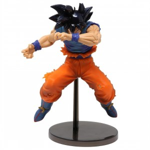 Banpresto Dragon Ball Z Blood Of Saiyans Special Ver. 2 Ultra Instinct Sign Goku Figure (blue)