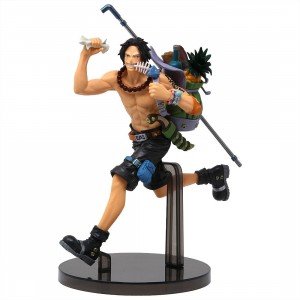 Banpresto One Piece Portgas D. Ace Enthusiast Ver. Figure (tan)
