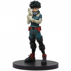 Banpresto My Hero Academia Age of Heroes Vol.2 Izuku Midoriya Figure (green)