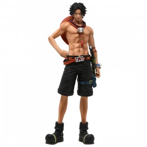 Banpresto One Piece Grandista The Grandline Men Portgas D. Ace Figure (tan)
