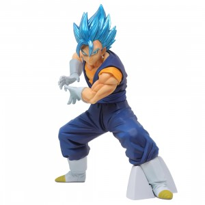 Banpresto Dragon Ball Super Vegito Final Kamehameha Ver. 1 Super Saiyan God Super Saiyan Vegito Figure (blue)