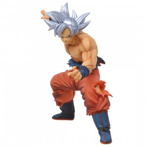 Banpresto Dragon Ball Super Maximatic The Son Goku Vol. 1 Figure (silver)