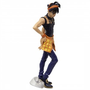 Banpresto Jojo's Bizarre Adventure Golden Wind Narancia Ghirga Figure (purple)