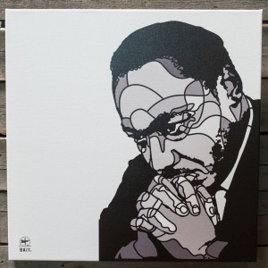 BAIT x David Flores 36 Inch Canvas - MLK (gray)